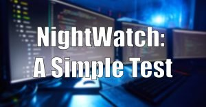 Read more about the article Writing a Simple Test with Nightwatch.js