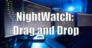 Read more about the article When NightWatch Annoyingly Prevents Drag And Drop Testing